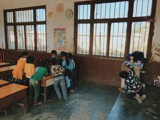 Kids in Guizhou, China.