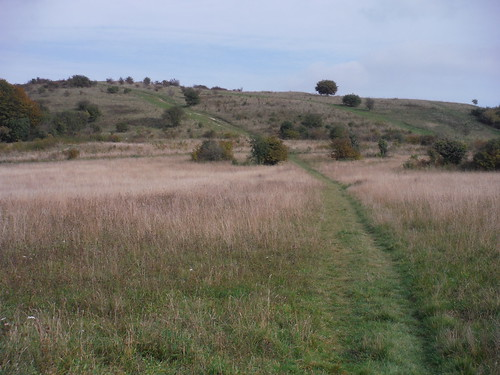 The route up Warden Hill