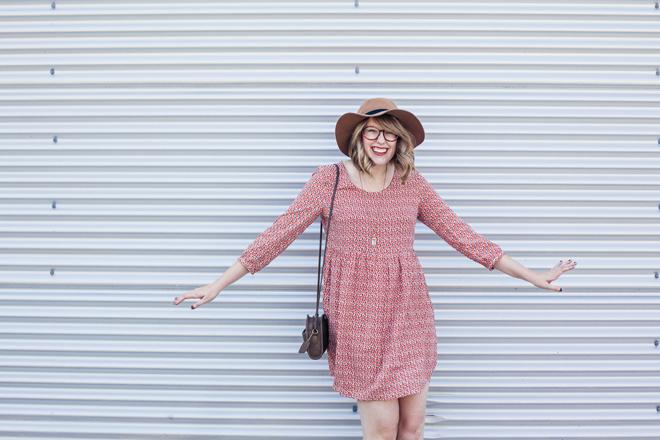 smock dress felt hat5