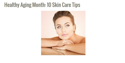 Dr. Schlessinger shares skin care tips with HealthyAging.net