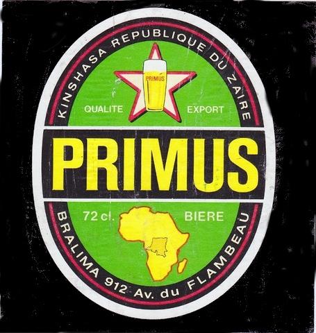 Zaire - Cerveza Primus