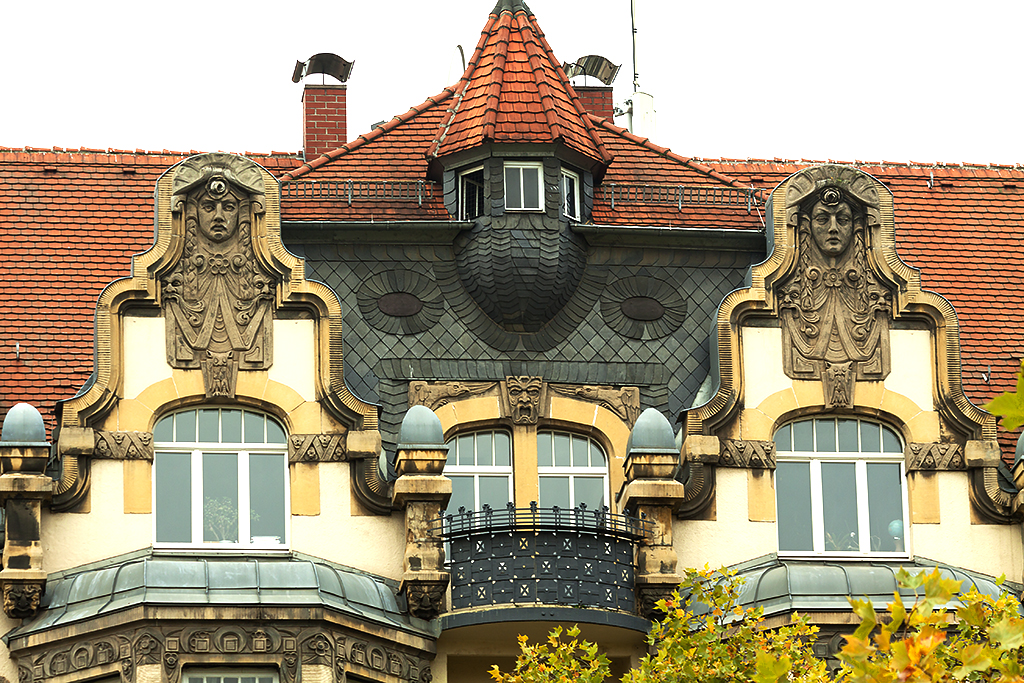 Architecture details seen on 10-22-15--Leipzig