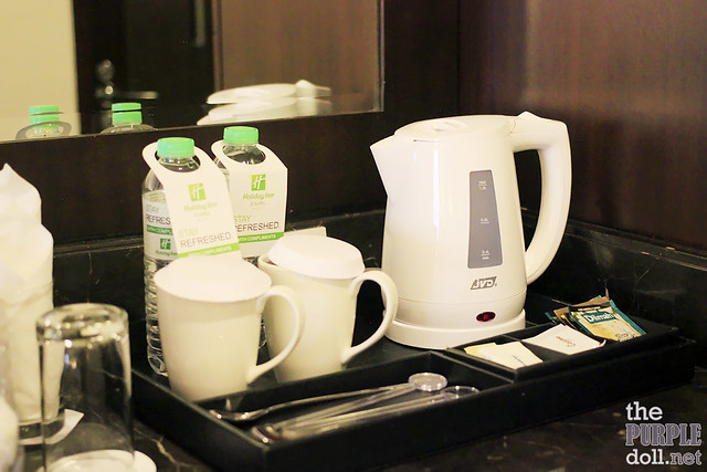 Holiday Inn & Suites Makati Complimentary Water, Coffee and Tea