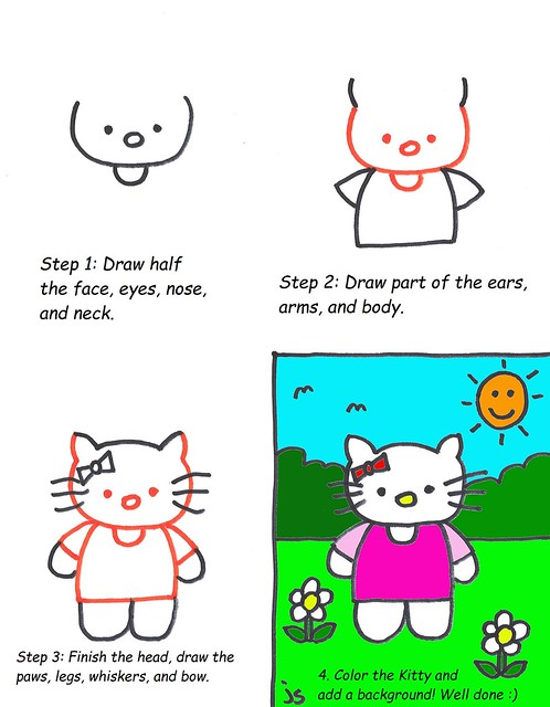 Hello Kitty Lesson