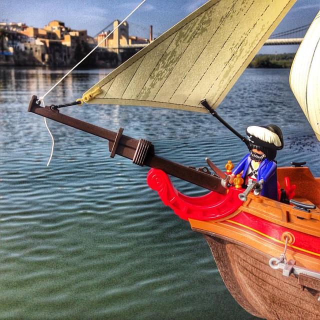 Ja arriben els pirates #expoclick2015 #amposta #surtdecasaebre #ebreactiu #viulebre #expoclick2015concurs #playmobil