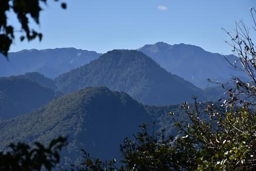 能高越嶺步道-海馬僕富士山