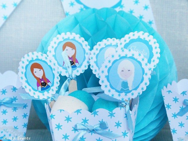 KIT IMPRIMIBLE cumpleaños FROZEN Merbo Events