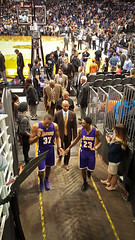 Lakers exit