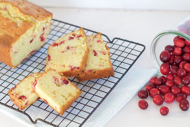 Cranberry-Sour Cream Bread