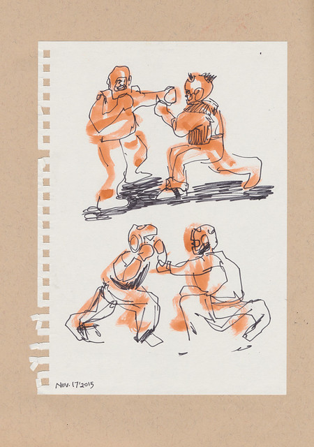 Sketchbook #93: My Life Drawing Class