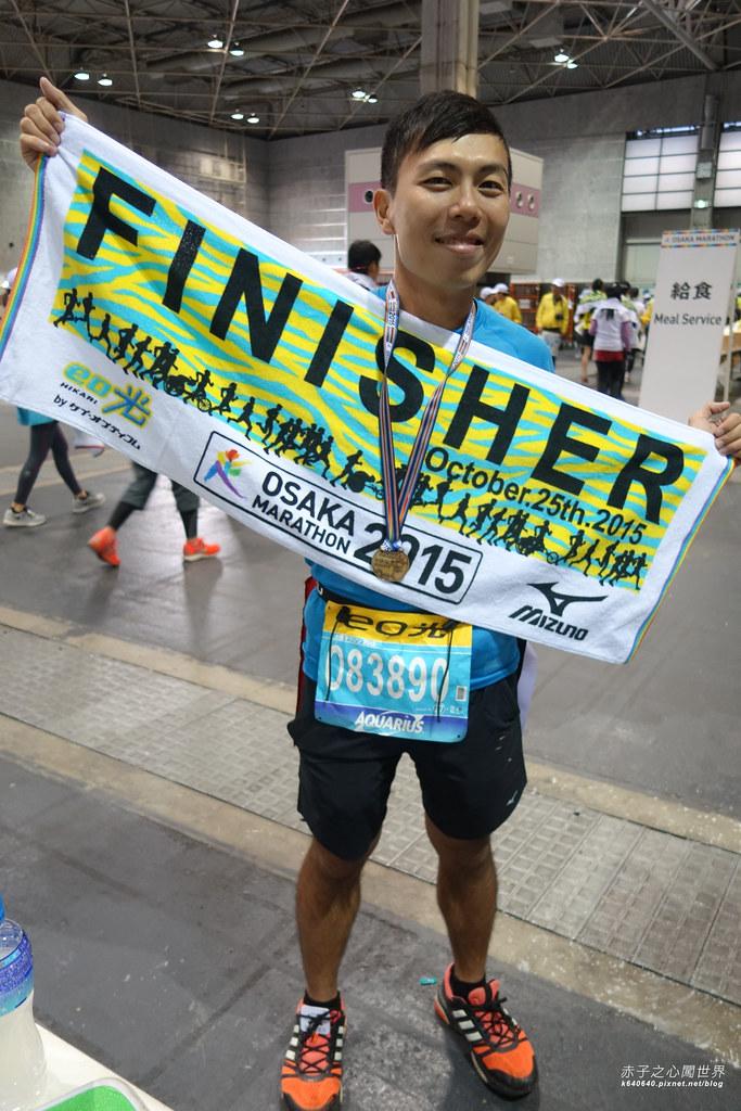 大阪馬拉松-跑步-53