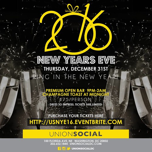 New Year's Eve at Union Social
