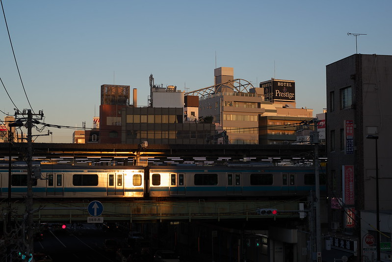 Tokyo Train Story 京浜東北線ギラリ 2015年12月20日