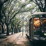 Rolling into that Monday-after-Fall Break like:   But seriously - the St. Charles Streetcar line runs directly from the top of our campus, and is a student favorite for getting around the city!  #onlyattulane #onlyinneworleans