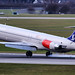 Skandinavian Airlines McDonnell Douglas MD81 at DUS (SE-DIN) by wilco737