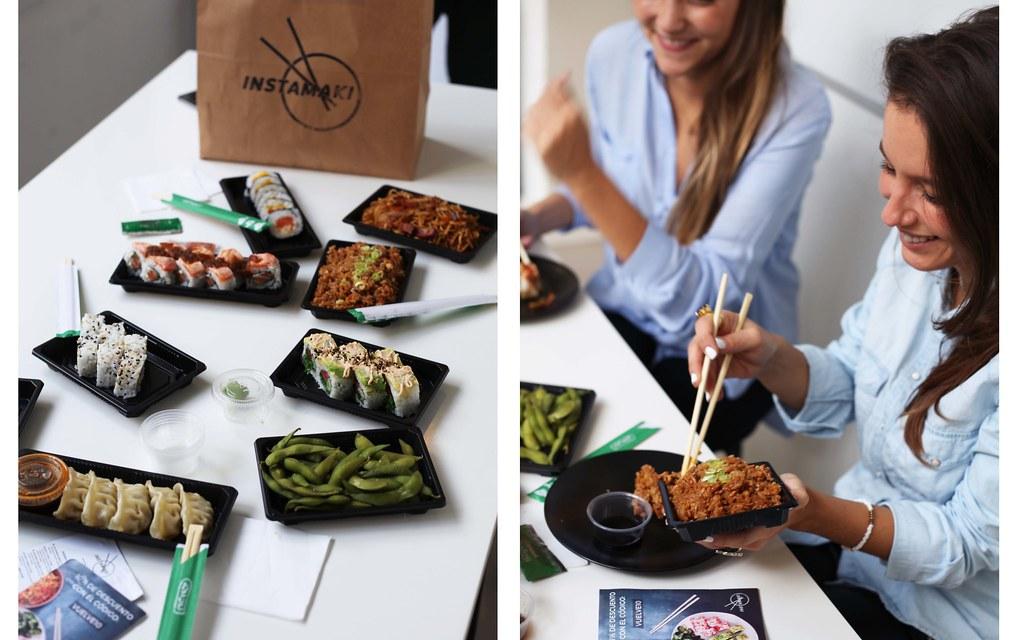 instamaki comer sushi en Barcelona