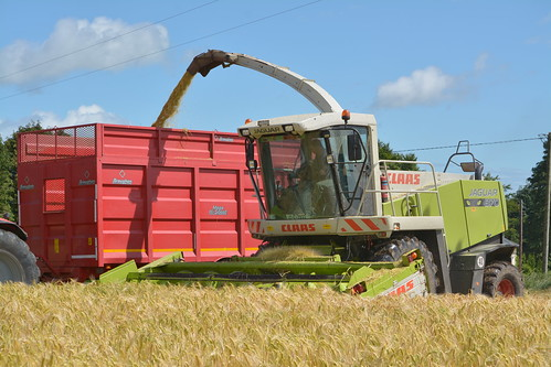 Claas Jaguar 870 Self Propelled Forage Harvester