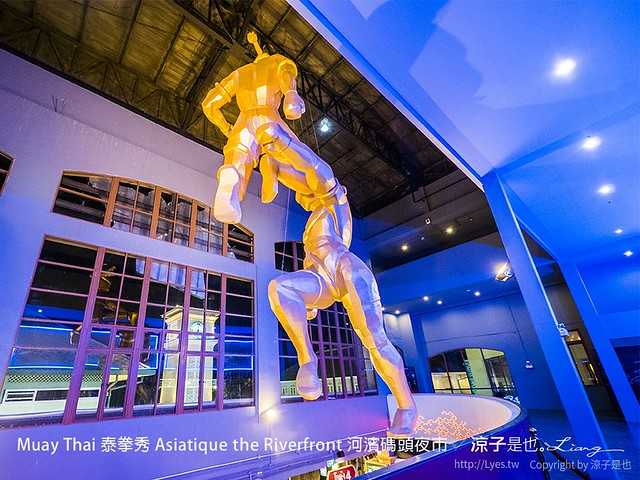 Muay Thai 泰拳秀 Asiatique the Riverfront 河濱碼頭夜市 34