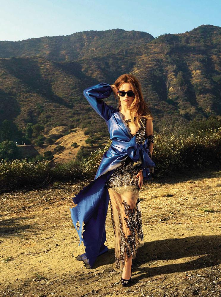 Райли Кио — Фотосессия для «Glamour» ES 2016 – 3