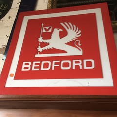old Bedford sign for sale