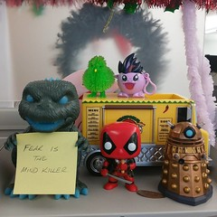 i must not fear #goji #pinkiepie #deadpool #alfiethemartianchicken #dalek #fear