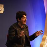 Joanne Harris | Joanne Harris speaks about The Gospel of Loki at the Book Festival © Helen Jones