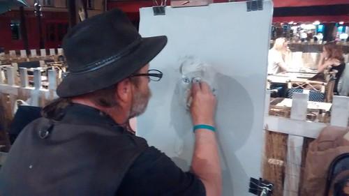 Paris Montmartre artists Aug 15 4