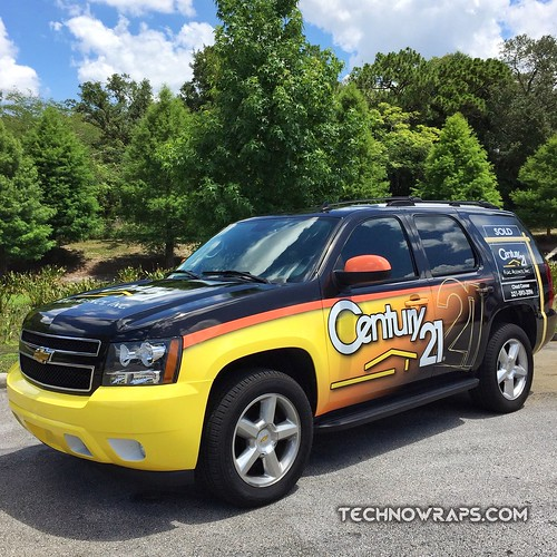 Real estate vehicle wrap by TechnoSigns in Orlando