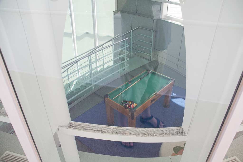 Pool table on Celebrity Constellation