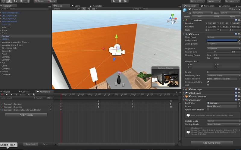Unity3d Animation Timeline