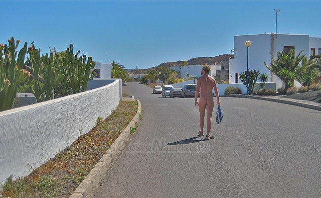 naturist 0004 Charco del Palo, Lanzarote, Canary Islands, Spain