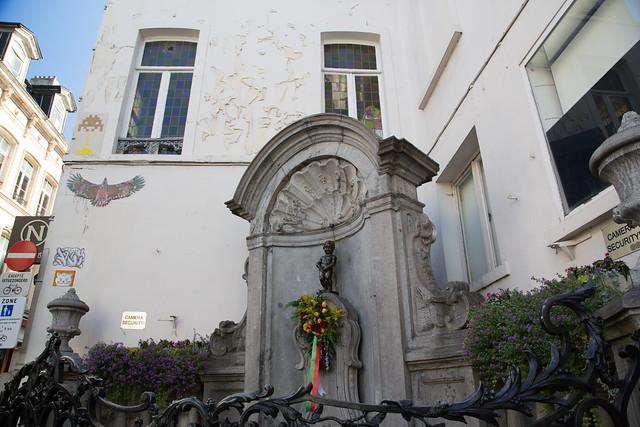 Manneken-Pis Grand Place Belgium Brussels #ユーレイル
