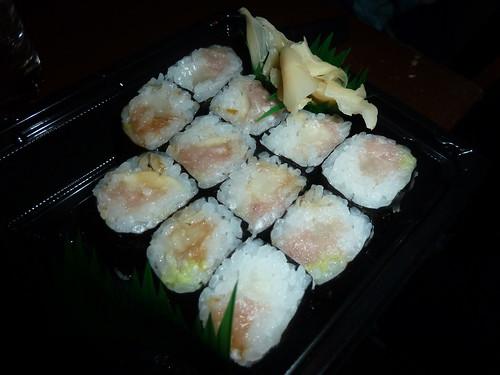 天下寿司 とろたく巻