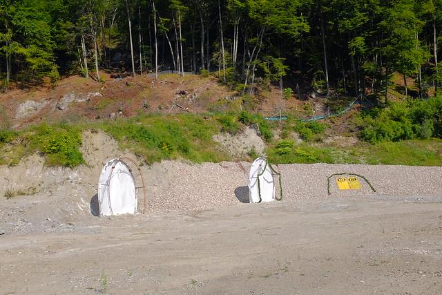 Spatenstich Baubeginn Tunnel Oberau