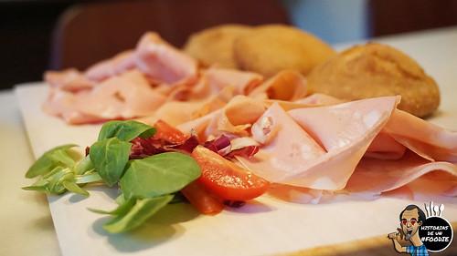Mortadella de Bologna y Pizzelle