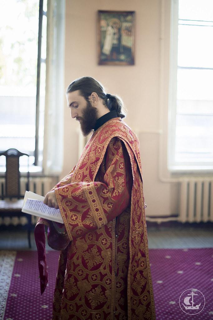 11 сентября 2015, Литургия в день памяти Усекновения главы Иоанна Предтечи / 11 September 2015, Liturgy on the Beheading of John the Baptist