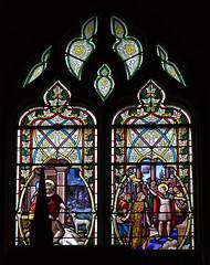 Bon samaritain (le), saint Sébastien (baie 10)
