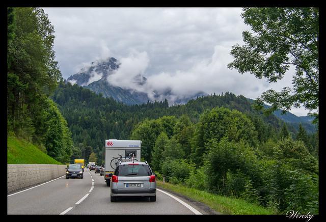 Día 12: Austria, Garmisch-Partenkirchen, Oberammergau - Atasco en las carreteras de Austria
