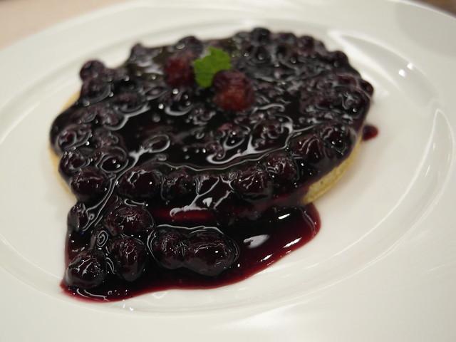 有機藍莓鬆餅(單片)@棉花田有機餐廳