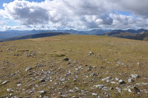 View west from Meall a' Phubuill