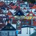 Roofs of Bergen by Paulius Bruzdeilynas