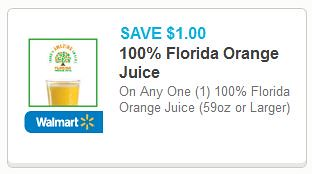 100% Florida Orange Juice