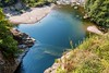Cannobio river in a pond, after a canyon. by Giuseppe Pipia