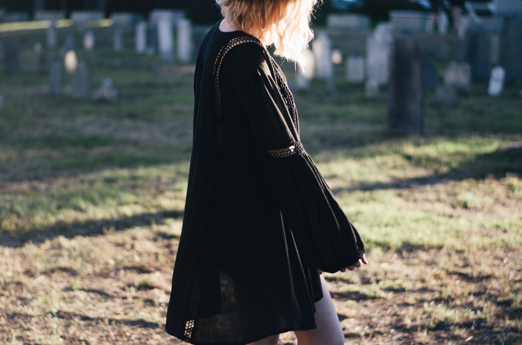 In Free People in a Salem Graveyard on juliettelaura.blogspot.com
