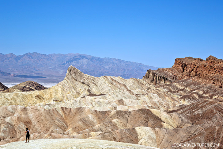 Zabriskie Point Death Valley National Park (15 Popular Weekend Trips from Los Angeles).