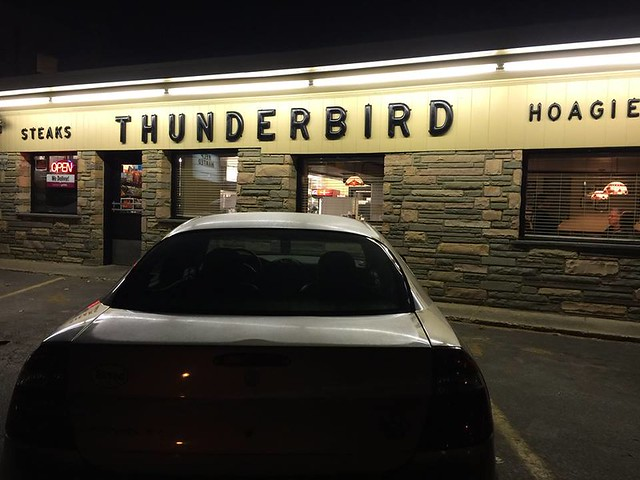 Thunderbird Restaurant Broomall PA 2015 Adrian Hickman Retro Roadmap