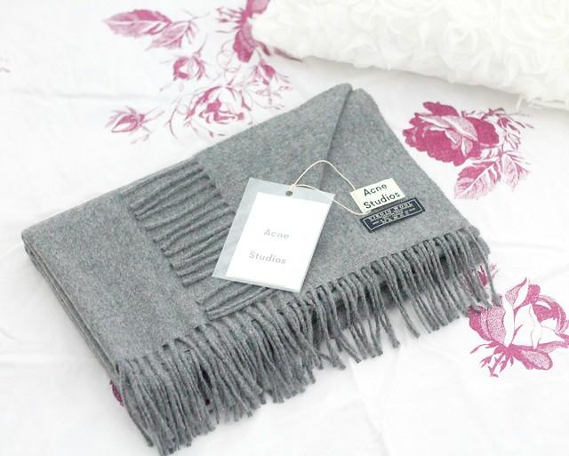 Acne Canada scarf blog