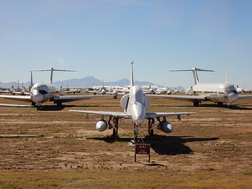 Pima Air-Space museum - Boneyard - celebrity row