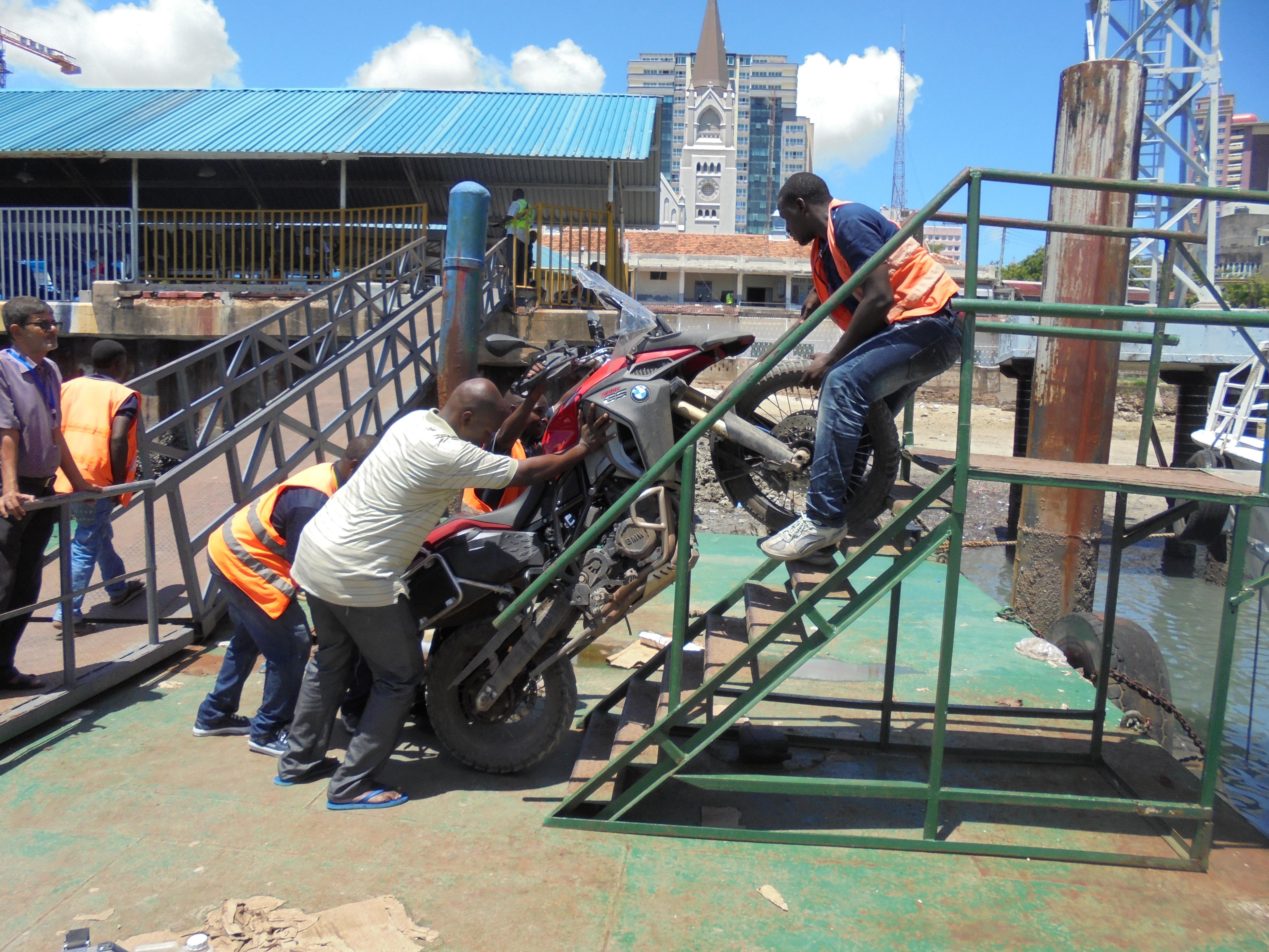 Stairways to Zanzibar
