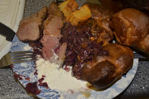 roast beef dinner Nov 15